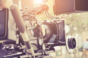 digital cinema camera behind the scenes